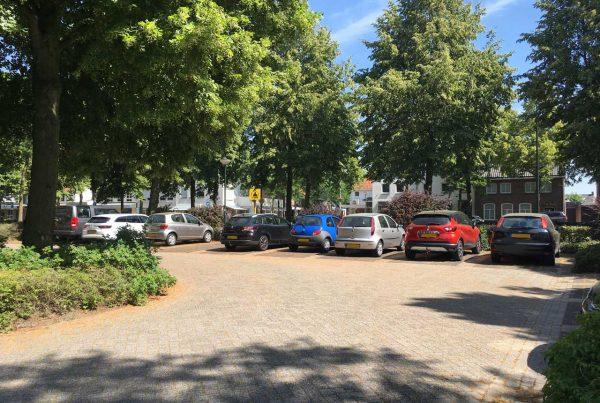 In Schijndel Parkeerplaats Plein 1944