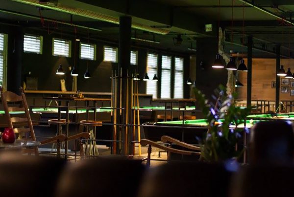 In Schijndel Poolcafé the shooter
